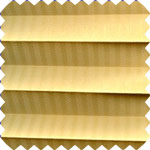 Capri Lemon Pleated Skylight Blinds