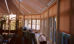 Conservatory Blinds for the Sides