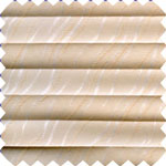 Florence Peach Pleated Skylight Blinds