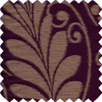 Nevarra Plum Roman Blinds