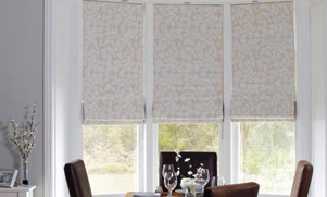 Luxurious Roman blinds are the perfect way to bring elegant style to your windows