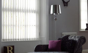 Vertical blinds are the ideal way to filter light into your room while maintaining your privacy