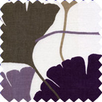 Vittorio Plum Roman Blinds
